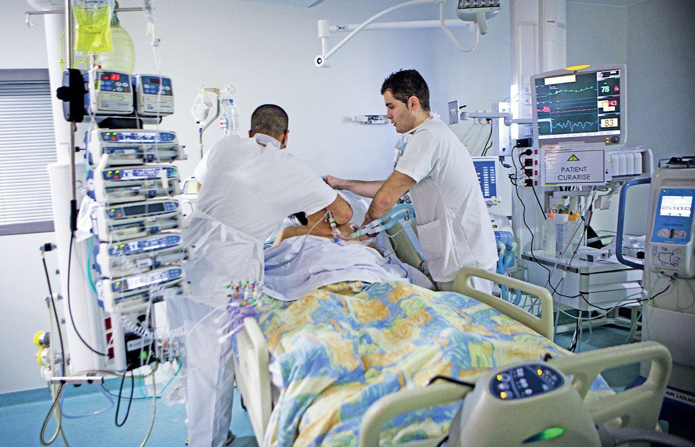 Großer Hahn-Patient