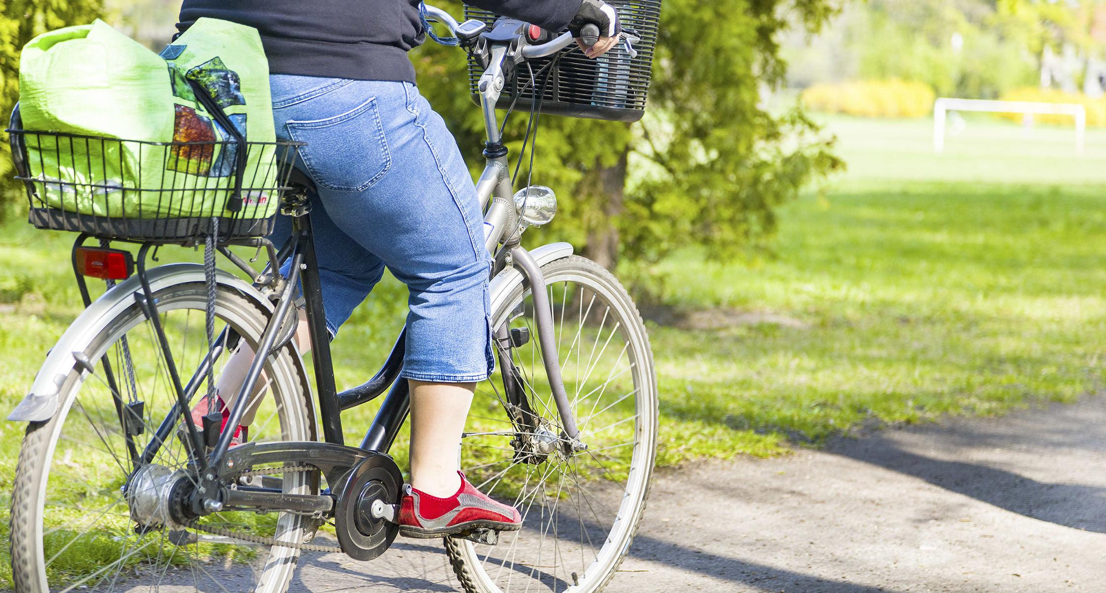 prostata durch radfahren