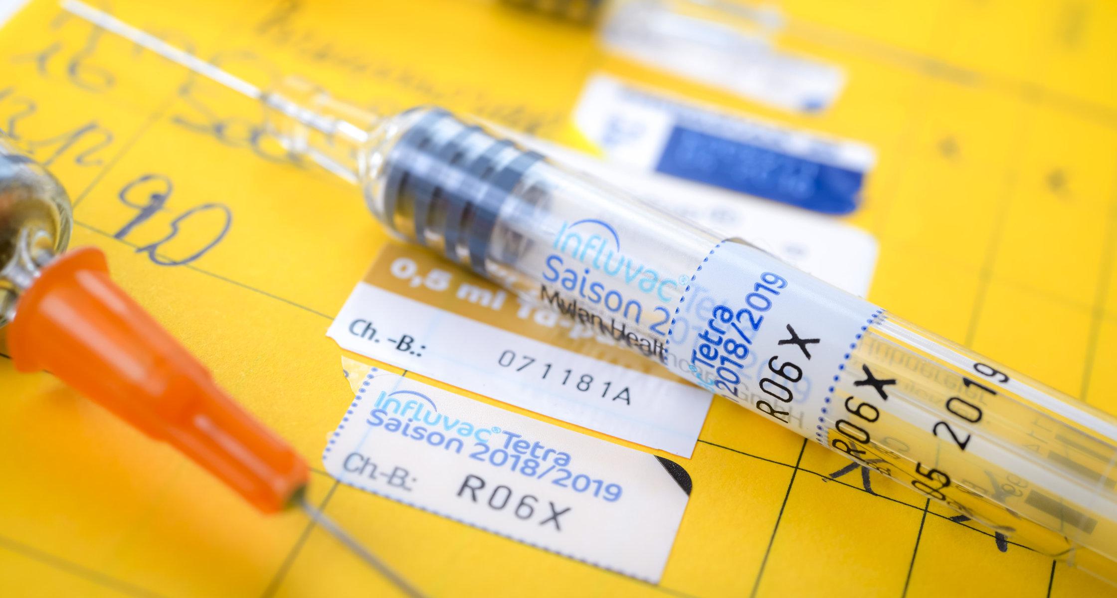 Vertragsarzte Rufen Zur Grippeimpfung Auf