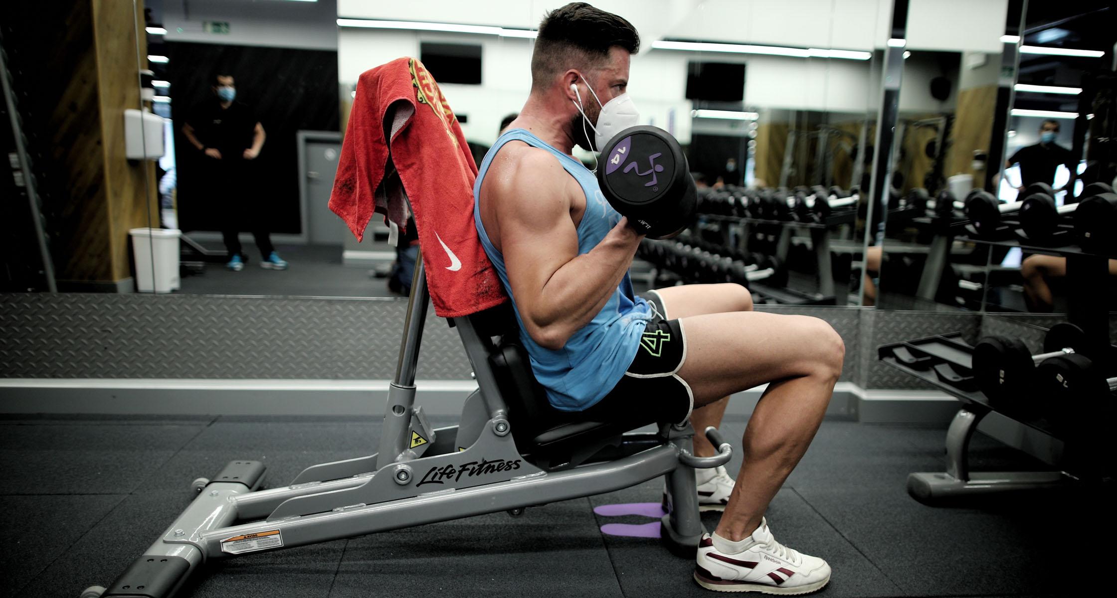 Sars Cov 2 Wie Sich Infektionen Im Fitnessstudio Vielleicht