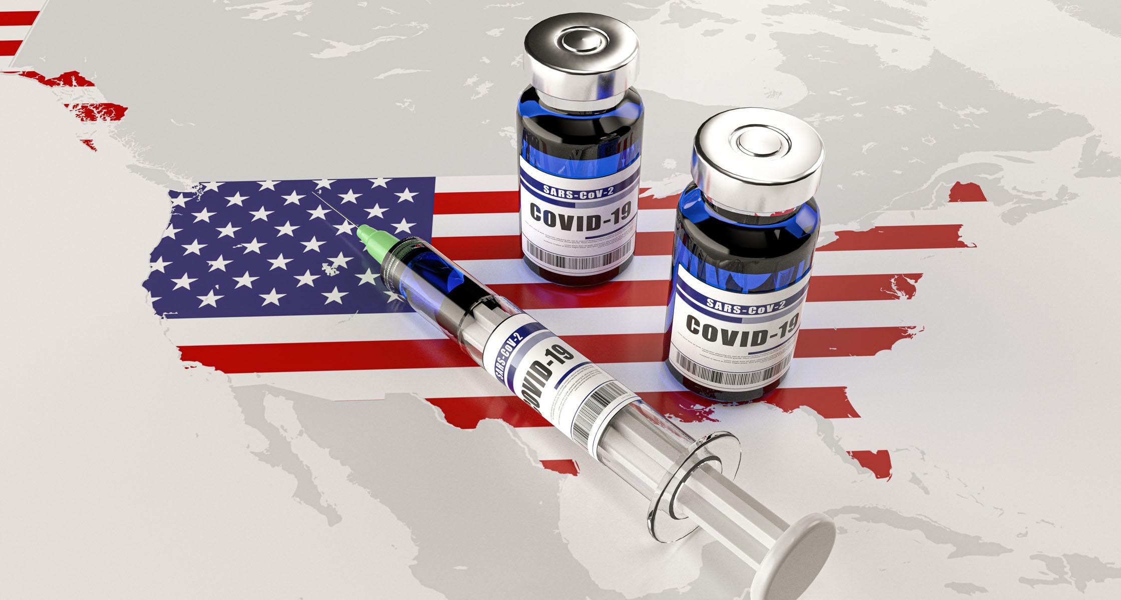 USA: Jeder Fünfte geimpft, Diskussionen um Impfpass