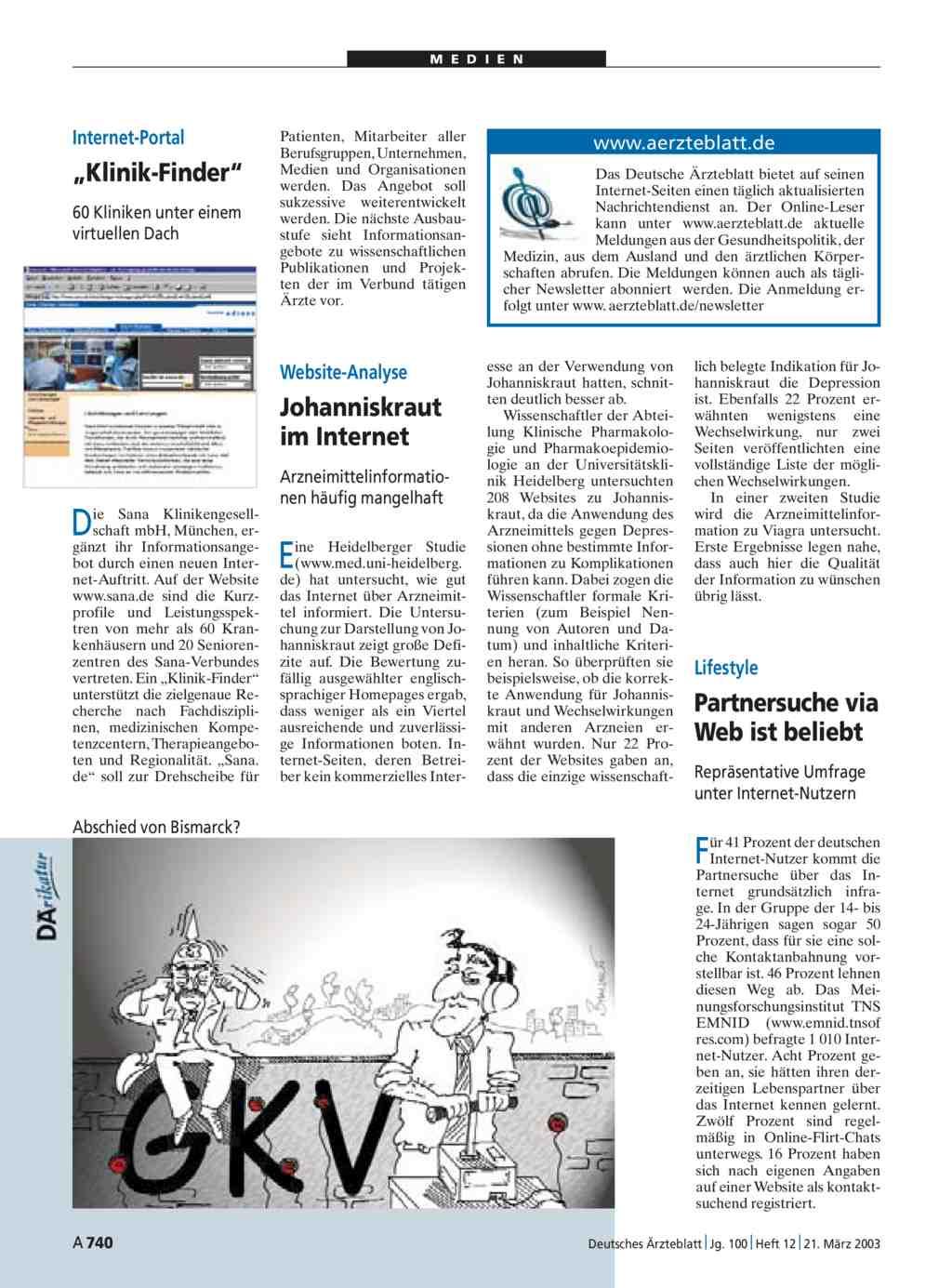 Website-Analyse: Johanniskraut im Internet