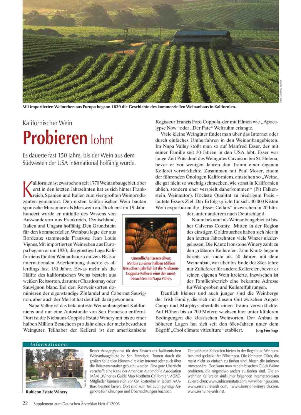 Kalifornien Karte Pdf.Kalifornischer Wein Probieren Lohnt