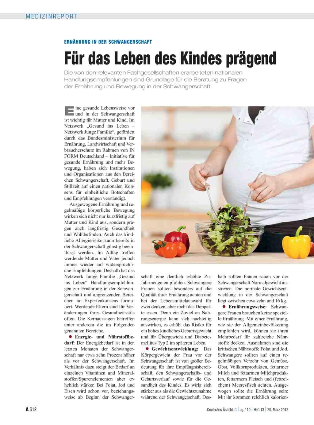 Welche Diät sollte ich in der Schwangerschaft befolgen