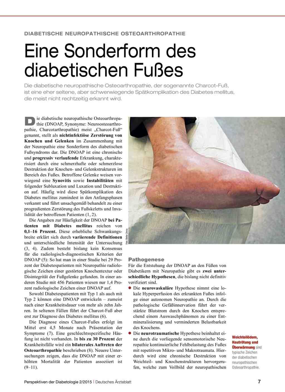 Diabetischer fuß stadien