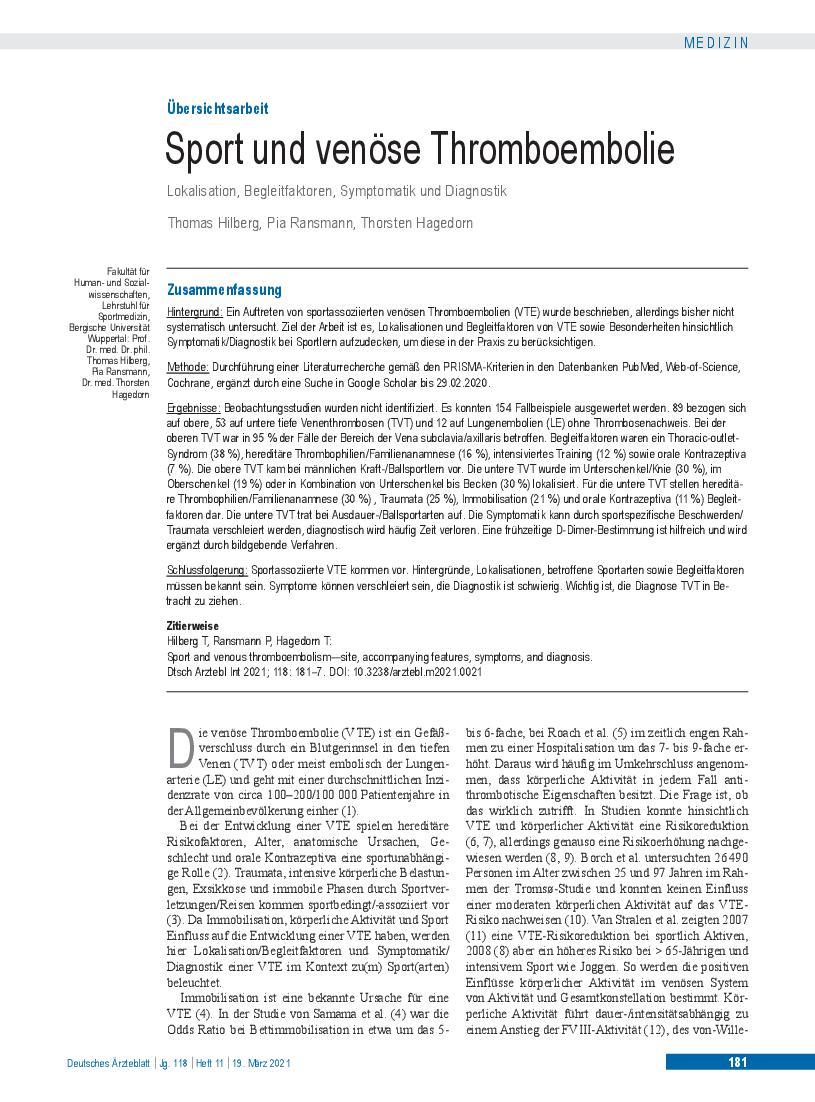 Sport Und Ernährung Studieren
