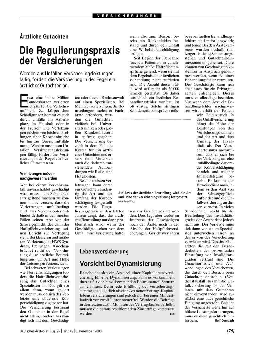 Medizinisches Gutachten Im Prozess Ehlers Gunter Mclegal