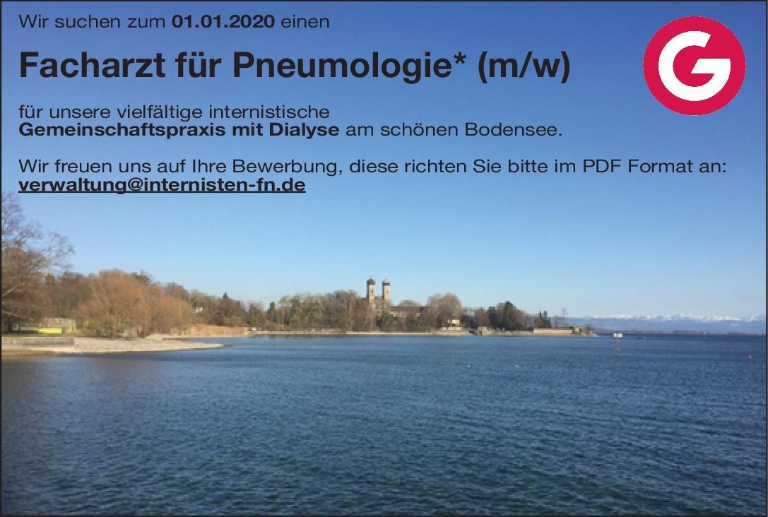 Gemeinschaftspraxis Facharzt für Pneumologie (m/w) Innere Medizin Arzt/Facharzt