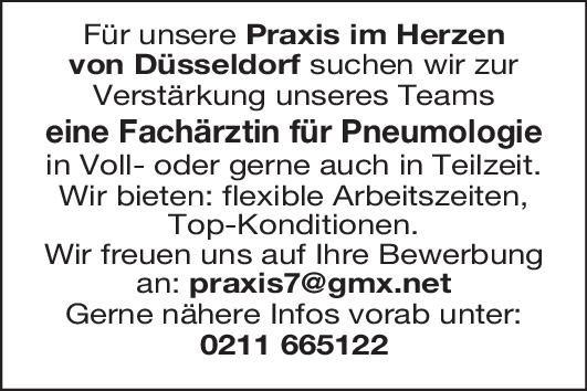 Praxis Fachärztin für Pneumologie  Innere Medizin und Pneumologie Arzt / Facharzt