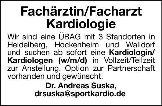 Dr. Andreas Suska Fachärztin/Facharzt - Kardiologie  Innere Medizin und Kardiologie, Innere Medizin Arzt / Facharzt