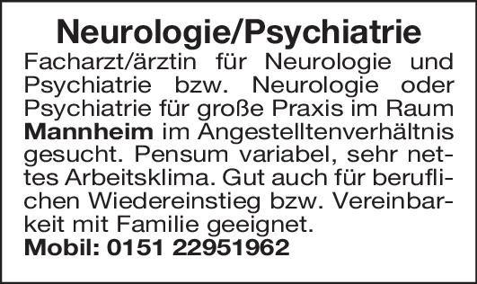 Praxis Facharzt/Fachärztin Neurologie Neurologie Arzt / Facharzt