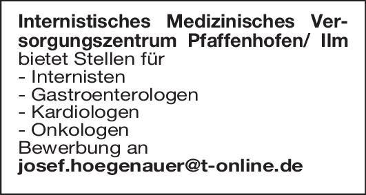 Internistisches Medizinisches Versorgungszentrum Kardiologie, Onkologie  Innere Medizin und Hämatologie und Onkologie, Innere Medizin und Kardiologie Arzt / Facharzt