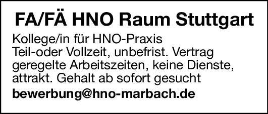 Praxis Facharzt/Fachärztin für HNO  Hals-Nasen-Ohrenheilkunde, Hals-Nasen-Ohrenheilkunde Arzt / Facharzt