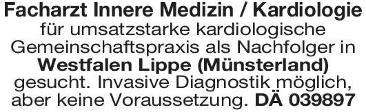 Kardiologische Gemeinschaftspraxis Facharzt Innere Medizin / Kardiologie  Innere Medizin und Kardiologie, Innere Medizin Arzt / Facharzt
