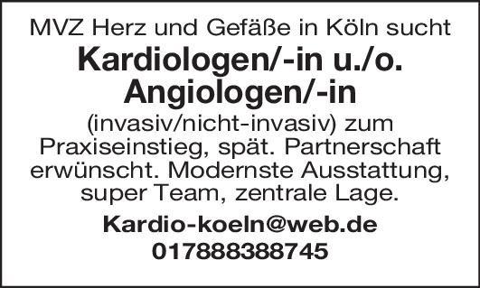 MVZ /Zentrum für Herz- und Gefäßmedizin Facharzt - Kardiologie (m/w/d)  Innere Medizin und Kardiologie, Innere Medizin Arzt / Facharzt