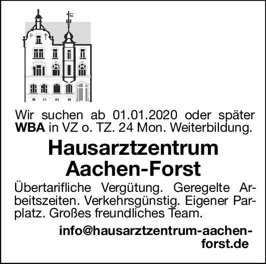 Hausarztzentrum Weiterbildungsassistent/in Allgemeinmedizin Assistenzarzt / Arzt in Weiterbildung