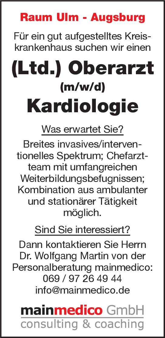 mainmedico GmbH (Ltd.) Oberarzt (m/w/d) Kardiologie  Innere Medizin und Kardiologie, Innere Medizin Oberarzt