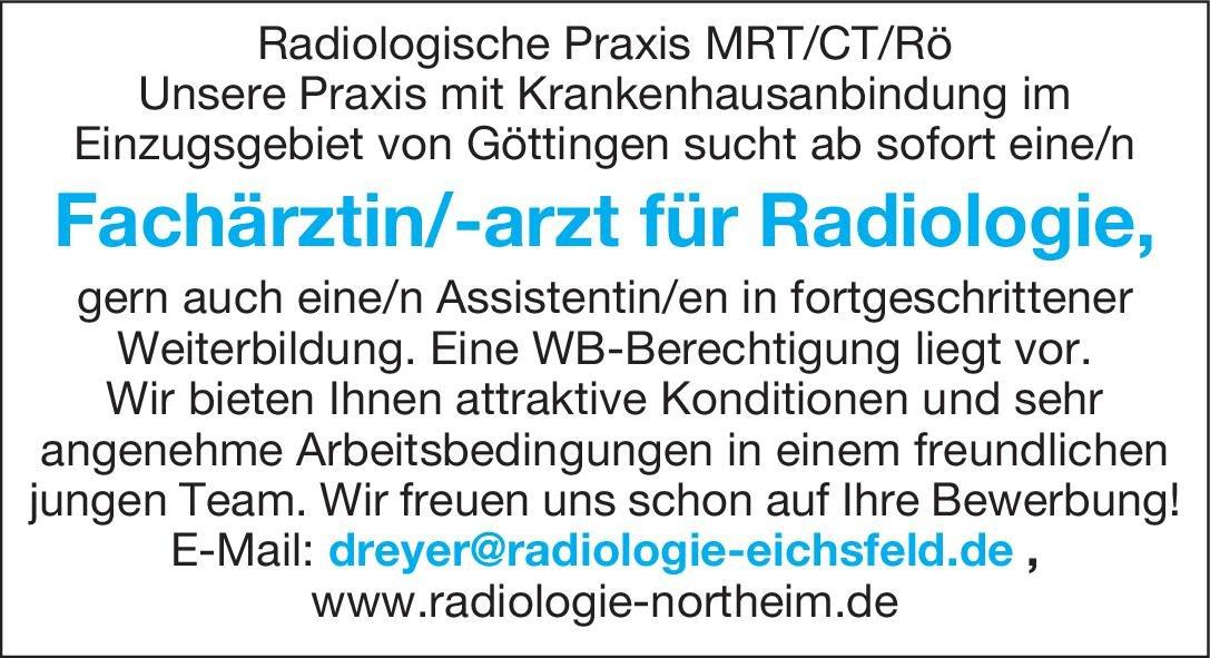 Radiologische Praxis Fachärztin/-arzt für Radiologie  Radiologie, Radiologie Arzt / Facharzt, Assistenzarzt / Arzt in Weiterbildung
