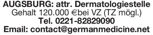 German Medicine Net Dermatologiestelle Haut- und Geschlechtskrankheiten Arzt / Facharzt
