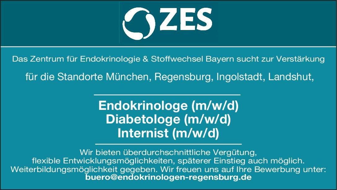 Zentrum für Endokrinologie & Stoffwechsel Diabetologe (w/m/d)  Innere Medizin und Endokrinologie und Diabetologie, Innere Medizin Arzt / Facharzt
