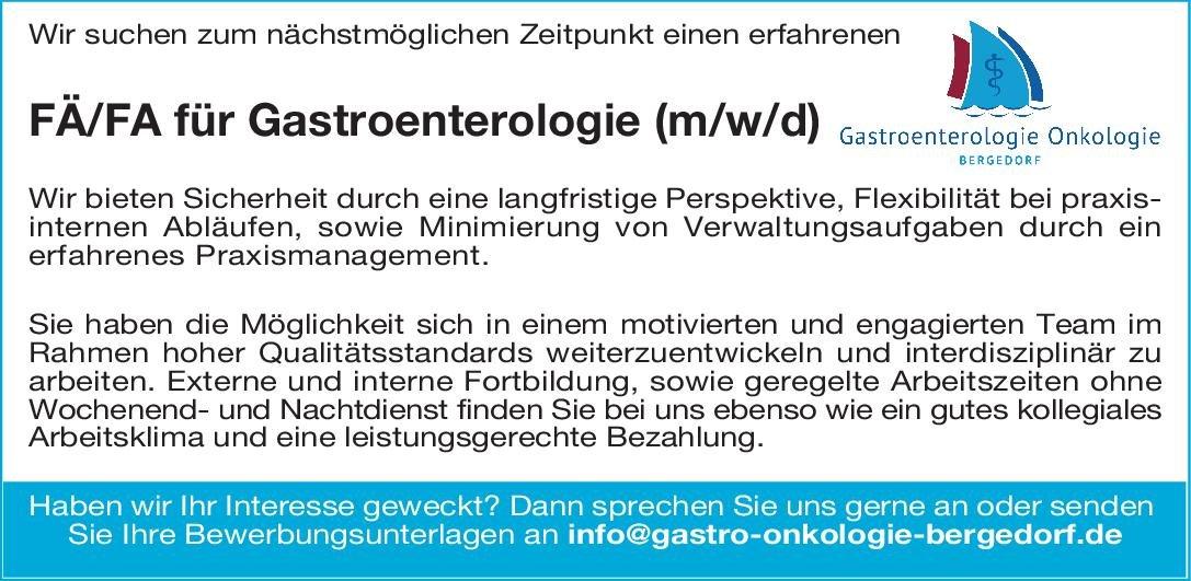 MVZ  - Praxis Fachärztin/Facharzt für Gastroenterologie (m/w/d)  Innere Medizin und Gastroenterologie, Innere Medizin Arzt / Facharzt