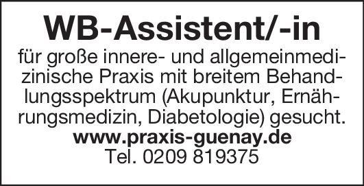 Innere- und allgemeinmed. Praxis WB-Assistent/-in-Innere/Allgemeinmed. Allgemeinmedizin, Innere Medizin Assistenzarzt / Arzt in Weiterbildung