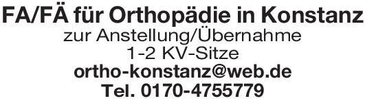Orthopädische Praxis Facharzt/Fachärztin für  Orthopädie  Orthopädie und Unfallchirurgie, Chirurgie Arzt / Facharzt