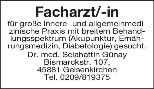 Allg. Praxis Dr. med.  Günay FA/FÄ für Innere- und Allgemeinmed. Allgemeinmedizin, Innere Medizin Arzt / Facharzt