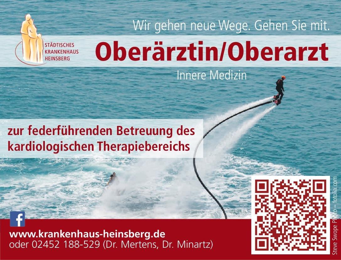 Städtisches Krankenhaus Heinsberg Oberärztin/Oberarzt Innere Medizin  Innere Medizin, Innere Medizin Oberarzt