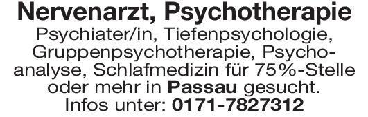 Praxis Nervenarzt, Psychotherapie  Psychiatrie und Psychotherapie, Neurologie, Psychiatrie und Psychotherapie Arzt / Facharzt