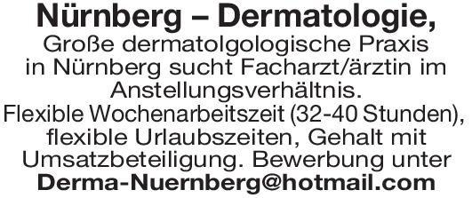 Praxis Facharzt/ Fachärztin Dermatologie Haut- und Geschlechtskrankheiten Arzt / Facharzt