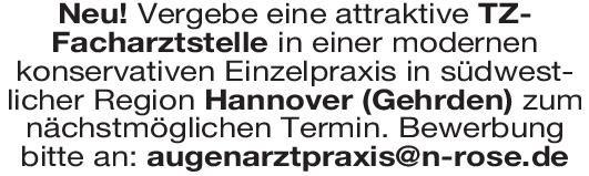 Praxis Facharztstelle Augenheilkunde Augenheilkunde Arzt / Facharzt