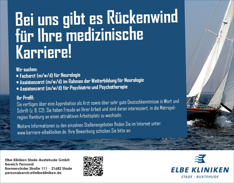 Elbe Kliniken Stade-Buxtehude GmbH Facharzt (m/w/d) für Neurologie Neurologie Arzt / Facharzt
