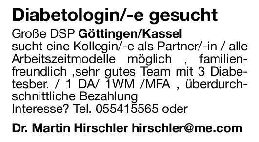 Praxis Dr. Hirschler Diabetologin/Diabetologe  Innere Medizin und Endokrinologie und Diabetologie, Innere Medizin Arzt / Facharzt