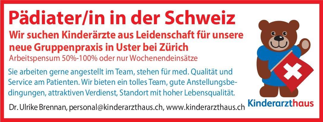 Praxis Pädiater/in  Kinder- und Jugendmedizin, Kinder- und Jugendmedizin Arzt / Facharzt