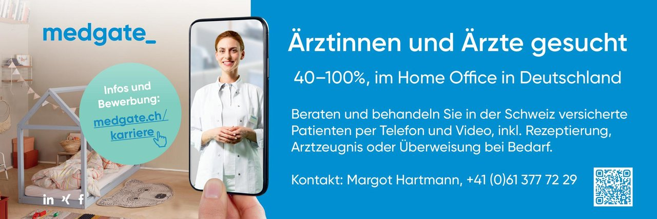 medgate Ärztinnen und Ärzte * ohne Gebiete Arzt / Facharzt