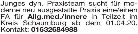 Praxis Facharzt für Allgemeinmedizin Allgemeinmedizin Arzt / Facharzt