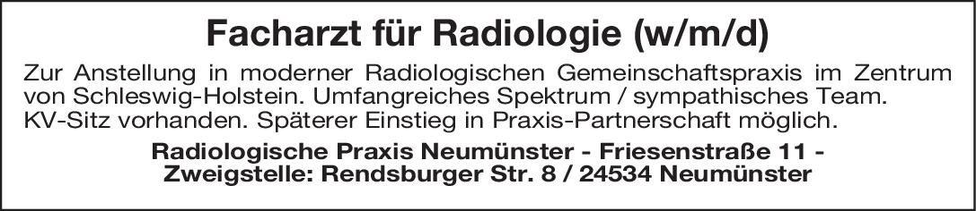 Radiologische Praxis Facharzt für Radiologie (w/m/d)  Radiologie, Radiologie Arzt / Facharzt