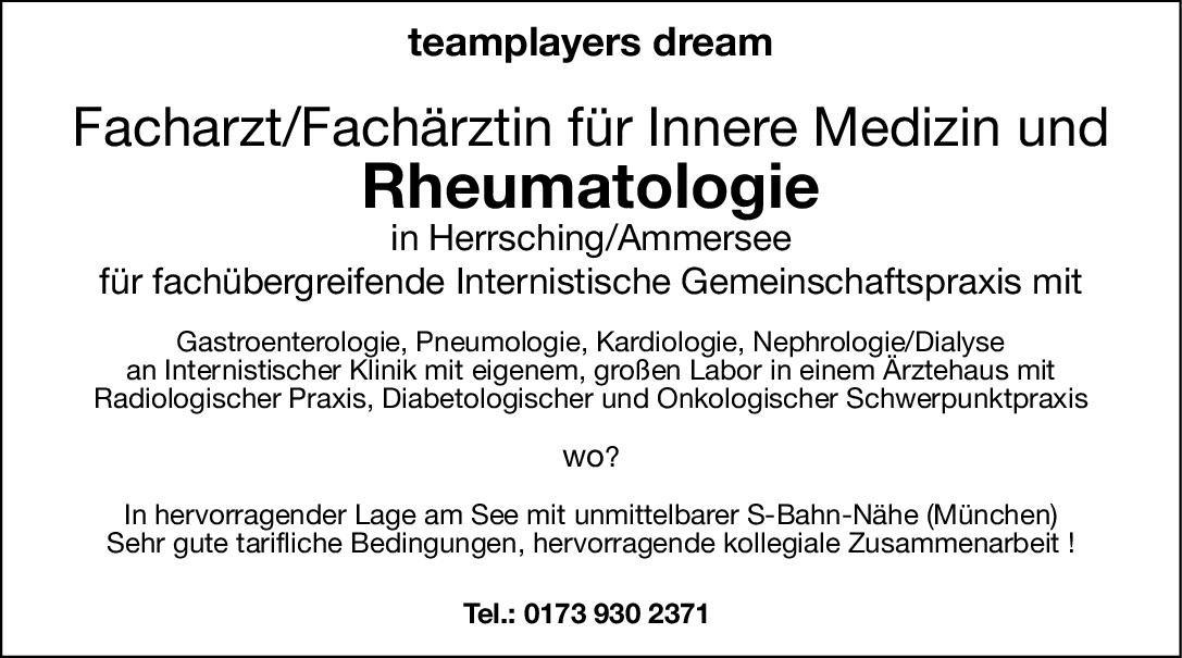 Gemeinschaftspraxis Facharzt/Fachärztin für Innere Medizin und Rheumatologie  Innere Medizin und Rheumatologie, Innere Medizin Arzt / Facharzt