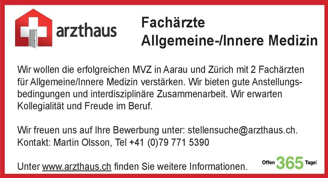 arzthaus Fachärzte Allgemeine-/Innere Medizin  Innere Medizin, Innere Medizin Arzt / Facharzt