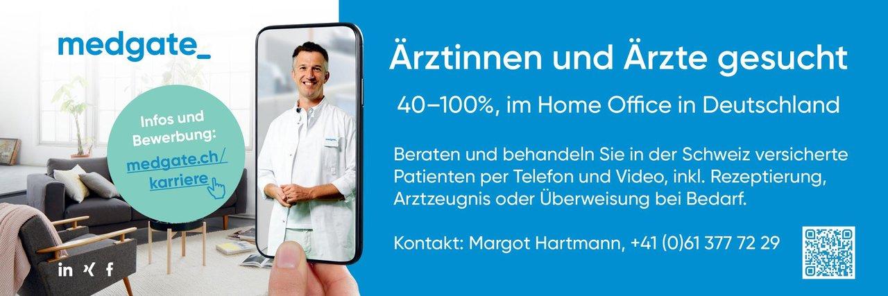 medgate Ärztinnen und Ärzte 40-100% im Home Office * ohne Gebiete Arzt / Facharzt