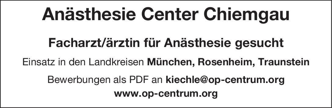 Praxis Facharzt/ärztin für Anästhesie Anästhesiologie / Intensivmedizin Arzt / Facharzt