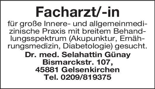 Allg. Praxis Dr. med.  Günay Facharzt/Fachärztin für Innere- und Allgemeinmed.  Innere Medizin, Allgemeinmedizin, Innere Medizin Arzt / Facharzt